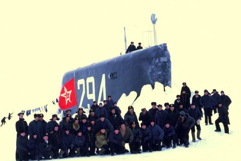 русская подводная лодка к-19