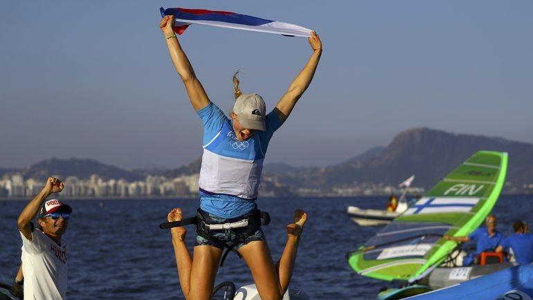 Кубанская яхтсменка Стефания Елфутина лидирует начемпионате Российской Федерации