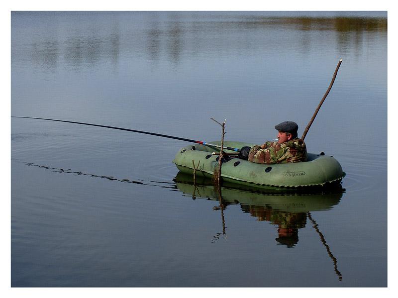 рыба на лодке когда
