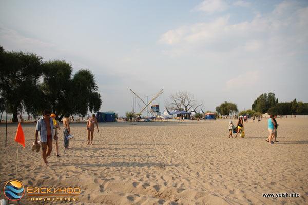 фото пляжа ейск