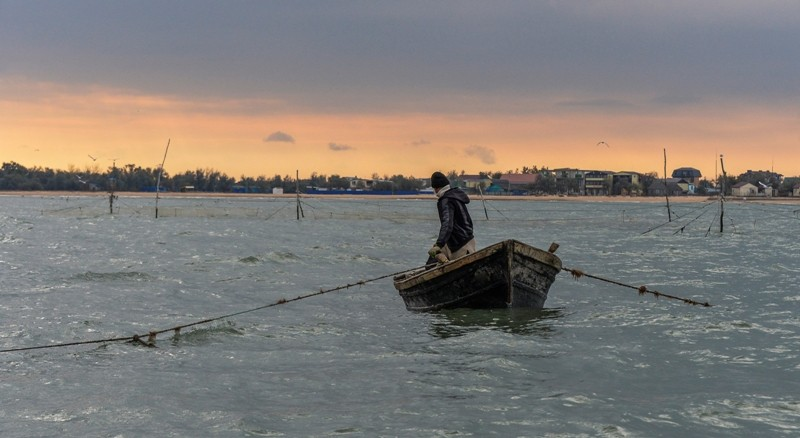 Рыбалка на ейском лимане